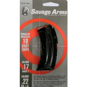Savage Arms Mark II Series .22 LR / .17 MACH 2 Magazine Blued Steel 10/rd