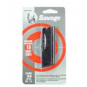 Savage Arms 64 Series Magazine .22 LR Blued Steel 10/rd