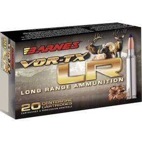 Barnes VOR-TX Long Range Rifle Ammunition .300 Rem Ultra Mag 190 gr LRX-BT 3125 fps 20/ct