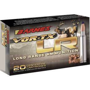 Barnes VOR-TX Long Range Rifle Ammunition .30-06 Sprg 175gr LRXBT 2800 fps 20/ct
