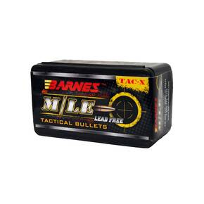 "Barnes M/LE TAC-X Tactical Bullets 5.56mm /.223 REM .224"" 55 gr FB 50/ct"