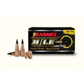 "Barnes Tipped M/LE TAC-TX Rifle Bullets .30 cal .308"" 168 gr TACTXBT 50/ct"