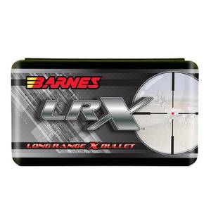 "Barnes LRX Long-Range X Bullets .22 cal .224""  77 gr LRX BT 50/Box"