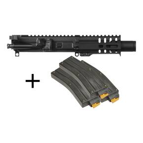 CMMG Banshee 300 MK4 Upper Group Kit  .22 LR with 3 25rd Magazines