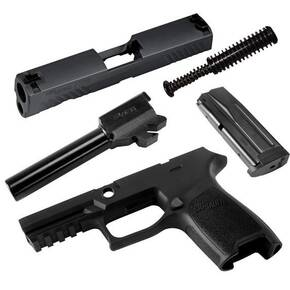 Sig Sauer Caliber X-Change Kit P320 Compact 9mm Black 15/rd Magazine