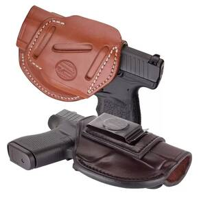 1791 4 Way Holster  size 1  Signature Brown RH