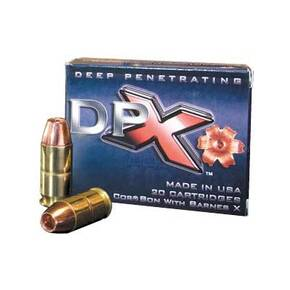 Cor-Bon DPX Handgun Ammuntion 9mm Luger 95gr DPX 1300 fps 20/ct