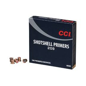 CCI Standard Primers #209 Shotshell - 1000/ct