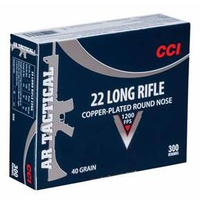 CCI AR Tactical .22 LR 40 gr CPRN 300/Box