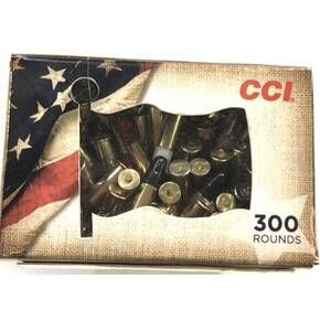 CCI .22 Long Rifle Patriot Pack Rimfire Ammunition .22LR 40gr LRN 1235 fps 300/ct