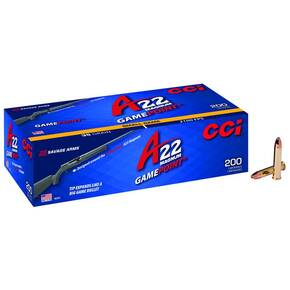 A22 Gamepoint Rimfire Ammuntion .22 WMR 35gr JSP 2100 fps 200/ct