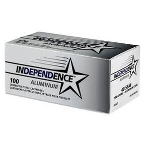 CCI Independence Aluminum Handgun Ammunition .40 S&W 180 gr FMJ 100/ct