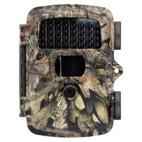 Covert Scouting Cameras MP8 Black Trail Camera with 40 Invisible High Power IR LEDS Mossy Oak Country - 8MP