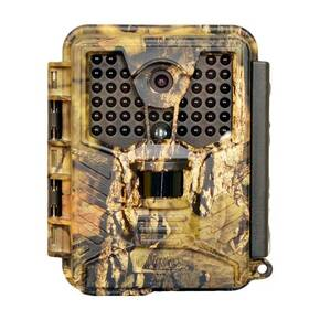 "Covert Scouting Cameras ICE Audio/Video Trail Camera With High Power Infrared IR 1"" Color Viewer - 8MP"