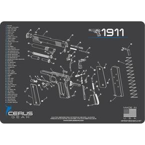 Cerus Gear 1911 Schematic ProMat - Gray