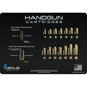Cerus Gear 12x17 Top Handgun Cartridges Promat - Carbon Fiber