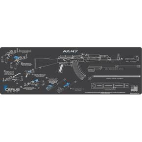 Cerus Gear 12x36 AK-47 Instructional Promat - Gray