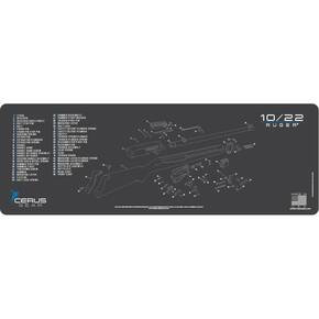 Cerus Gear 12x36 Ruger 10/22 Schematic Promat - Gray