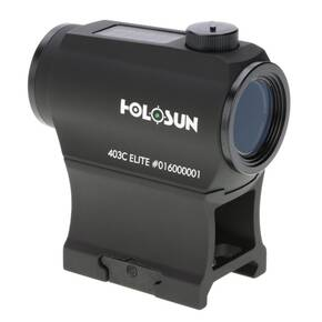 Holosun Micro Red Dot Sight HE403C-GR Elite - Green Dot/Solar Panel