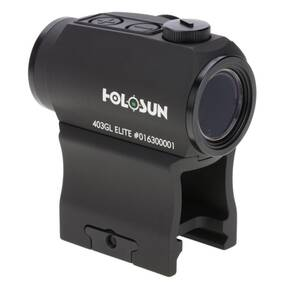 Holosun Micro Red Dot Sight HE403GL-GR Elite - Green Dot/Shake Awake Motion