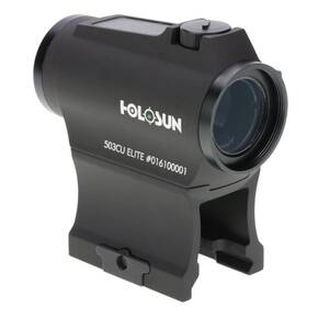 Holosun Micro Red Dot Sight HE503CU-GR Elite - Green Circle Dot/Solar Panel