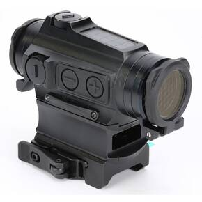 Holosun Micro Red Dot Sight HE515CM-GR Elite - Green Circle Dot/Solar Panel/QD Mount