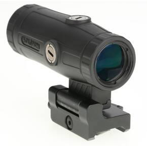 Holosun HM3X Magnifier with Integrated QD Mount - 3x Black