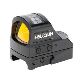 Holosun Open Reflex Red Dot Sight with Shake Awake & Solar Dual Power