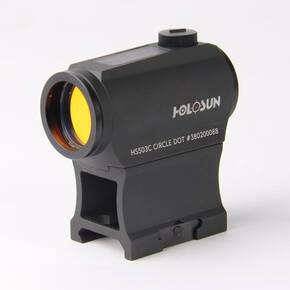 Holosun Micro Red Dot Sight HS503-C Classic - Circle Dot/Solar Panel