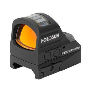 Holosun HS507C-X2 Reflex Sight Multi Reticle Failsafe Shake Awake - Red