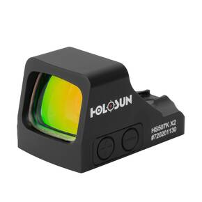 Holosun HS507K X2 Compact Reflex Sight Multi Reticle Shake Awake - Red