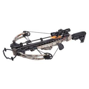 Crosman Spectre 375 Compound Crossbow Package with 4x32mm Illum Rifle Scope & Rope Cocker - Camo