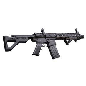 Crosman DPMS SBR Full Auto CO2 Powered BB Air Rifle, Black