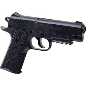 Crosman Remington 1911BB CO2 Powered, Semi-Auto BB Air Pistol - Black