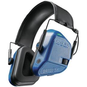 Champion Vanquish Electronic Hearing Protection- Teal