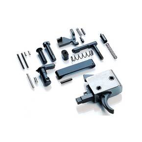 CMC Triggers Lower Assembly Kit w/ Black Trigger 3.5 lbs - Stage Curved