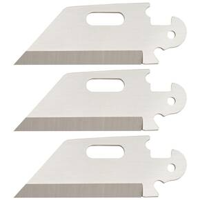 "Cold Steel Click-N-Cut Replacement Blade 3/pk - 2-1/2"" Reverse Tanto"