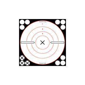 "Birchwood Casey Shoot-N-C White/Black Bull's-Eye ""X"" Targets"