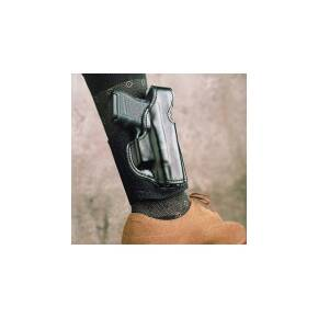 DeSantis for Glock 26, 27, 33 Die Hard Ankle Rig-Style 014, Right Hand, Black