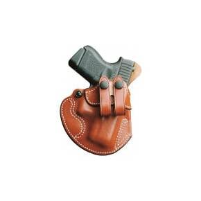 DeSantis Cozy Partner S&W M&P Shield Holster Tan Leather Right Hand