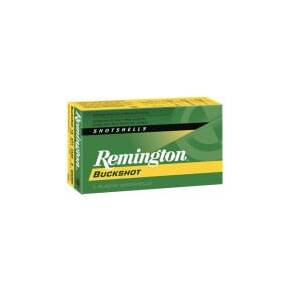 "Remington Express Buckshot Shotgun Ammo 12 ga 2 3/4"" 3 3/4 dr 8 plts #000 1325 fps - 5/box"