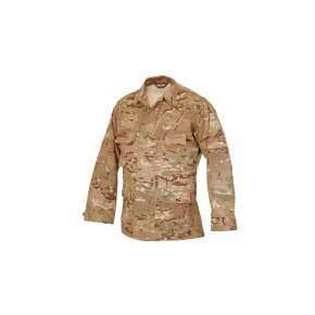 Tru-Spec BDU Coat - 50/50 CORDURA Nylon Cotton Rip-Stop MultiCam Small