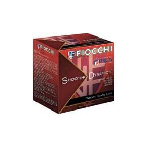 Fiocchi Target Heavy Shooting Dynamics Shotshells 12ga 2-3/4 in 1 oz 1200 fps #7.5 25/ct