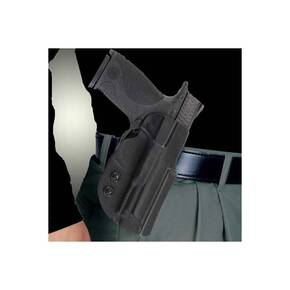 "PADDLE HOLSTER KYDEX BLK RH FOR STANDARD 1911'S W/BARREL 4""-5"""