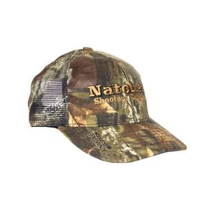 Natchez Structured Low Profile Hat - Advantage Timber Camo with Mesh Back - Made in the USA