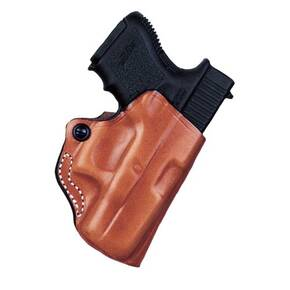 #019 MINI SCABBARD BLK RH FOR RUGER LCP II