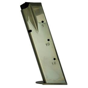 CZ-USA CZ 75/85 Magazine 9mm Luger Chrome Plated 16/rd