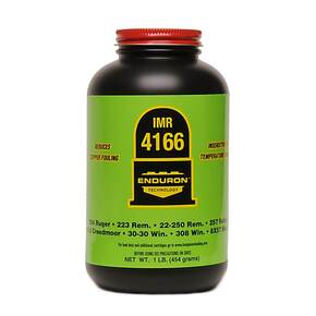 IMR 4166 Enduron Rifle Powder - 1 lb