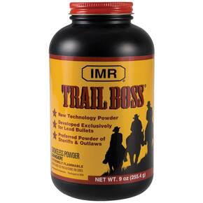 IMR Powder Trail Boss Cowboy Action Handgun Powder 9 oz