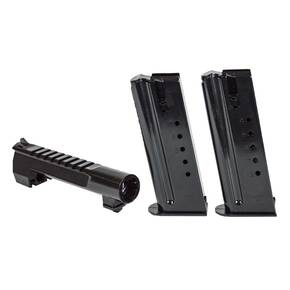 Magnum Research Desert Eagle Combo Pack 6 in Barrel & 2 Magazine Conversion Kit .44 Mag 8/rd Black Steel